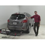 Curt  Hitch Cargo Carrier Review - 2010 Nissan Murano