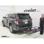 Curt  Hitch Cargo Carrier Review - 2010 Toyota 4Runner