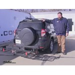 Curt  Hitch Cargo Carrier Review - 2010 Toyota RAV4