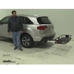 Curt  Hitch Cargo Carrier Review - 2011 Acura MDX