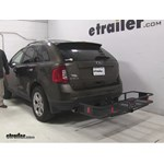 Curt  Hitch Cargo Carrier Review - 2011 Ford Edge