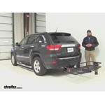 Curt  Hitch Cargo Carrier Review - 2011 Jeep Grand Cherokee