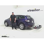 Curt  Hitch Cargo Carrier Review - 2011 Mazda CX-7