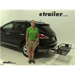 Curt  Hitch Cargo Carrier Review - 2011 Nissan Murano