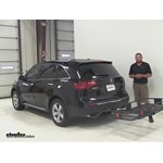 Curt  Hitch Cargo Carrier Review - 2012 Acura MDX