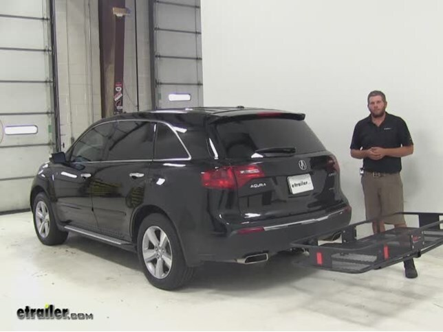 curt hitch cargo carrier review 2012 acura mdx video etrailer com rh etrailer com 2010 Acura MDX 2017 Acura MDX