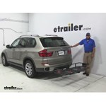 Curt  Hitch Cargo Carrier Review - 2012 BMW X5