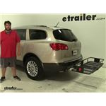 Curt  Hitch Cargo Carrier Review - 2012 Buick Enclave