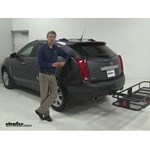 Curt  Hitch Cargo Carrier Review - 2012 Cadillac SRX