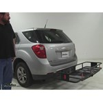 Curt  Hitch Cargo Carrier Review - 2012 Chevrolet Equinox