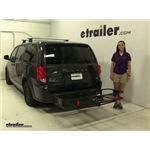 Curt  Hitch Cargo Carrier Review - 2012 Dodge Grand Caravan