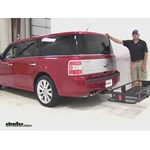 Curt  Hitch Cargo Carrier Review - 2012 Ford Flex