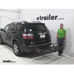 Curt  Hitch Cargo Carrier Review - 2012 GMC Acadia