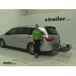 Curt  Hitch Cargo Carrier Review - 2012 Honda Odyssey