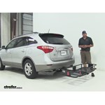 Curt  Hitch Cargo Carrier Review - 2012 Hyundai Veracruz