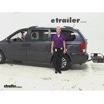 Curt  Hitch Cargo Carrier Review - 2012 Kia Sedona