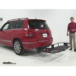 Curt  Hitch Cargo Carrier Review - 2012 Mercedes-Benz GLK-Class