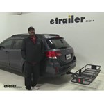 Curt  Hitch Cargo Carrier Review - 2012 Subaru Outback Wagon