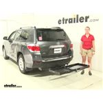 Curt  Hitch Cargo Carrier Review - 2012 Toyota Highlander