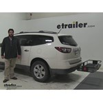 Curt  Hitch Cargo Carrier Review - 2013 Chevrolet Traverse