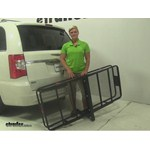 Curt Hitch Cargo Carrier Review - 2013 Chrysler Town and Country