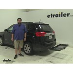 Curt  Hitch Cargo Carrier Review - 2013 GMC Terrain
