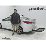 Curt  Hitch Cargo Carrier Review - 2013 Hyundai Elantra