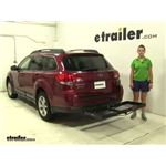 Curt  Hitch Cargo Carrier Review - 2013 Subaru Outback Wagon