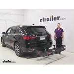 Curt  Hitch Cargo Carrier Review - 2014 Acura MDX