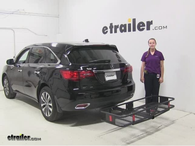 review curt hitch cargo carrier 2014 acura mdx c18151_644 best acura mdx cargo carriers etrailer com 2014 acura rdx trailer wiring harness at bayanpartner.co