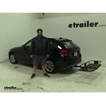 Curt  Hitch Cargo Carrier Review - 2014 BMW X1
