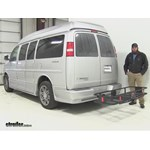 Curt  Hitch Cargo Carrier Review - 2014 Chevrolet Express Van