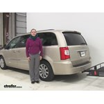 Curt  Hitch Cargo Carrier Review - 2014 Chrysler Town and Country