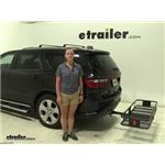 Curt  Hitch Cargo Carrier Review - 2014 Dodge Durango