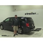 Curt  Hitch Cargo Carrier Review - 2014 Dodge Grand Caravan