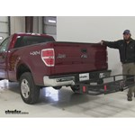 Curt  Hitch Cargo Carrier Review - 2014 Ford F-150