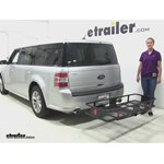 Curt  Hitch Cargo Carrier Review - 2014 Ford Flex
