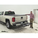 Curt  Hitch Cargo Carrier Review - 2014 GMC Sierra 1500