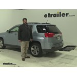 Curt  Hitch Cargo Carrier Review - 2014 GMC Terrain