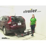 Curt  Hitch Cargo Carrier Review - 2014 Honda CR-V