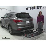 Curt  Hitch Cargo Carrier Review - 2014 Hyundai Santa Fe