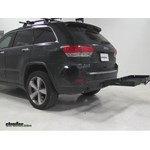 Curt  Hitch Cargo Carrier Review - 2014 Jeep Grand Cherokee