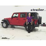 Curt  Hitch Cargo Carrier Review - 2014 Jeep Wrangler Unlimited