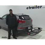 Curt  Hitch Cargo Carrier Review - 2014 Kia Sportage
