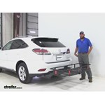 Curt  Hitch Cargo Carrier Review - 2014 Lexus RX 350