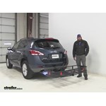 Curt  Hitch Cargo Carrier Review - 2014 Nissan Murano