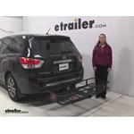 Curt  Hitch Cargo Carrier Review - 2014 Nissan Pathfinder