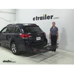 Curt  Hitch Cargo Carrier Review - 2014 Subaru Outback Wagon