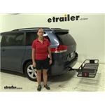 Curt  Hitch Cargo Carrier Review - 2014 Toyota Sienna