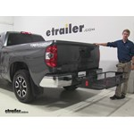 Curt  Hitch Cargo Carrier Review - 2014 Toyota Tundra